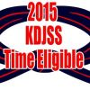 KDJSS Time Eligible Members 2015