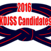 KDJSS Invited Candidates 2016