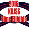 KDJSS Time Eligible Members 2016