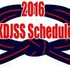 KDJSS Schedule 2016